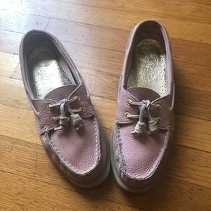 GUC Sz 8.5 Sperry Leather Boat Shoes